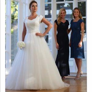 Dresses & Skirts - Beautiful Custom Made Modest Wedding Dress
